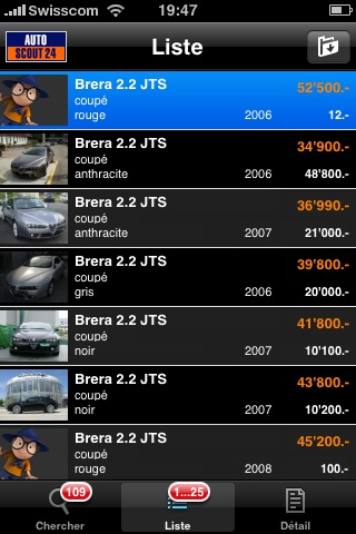 autoscout24 - iphone - application